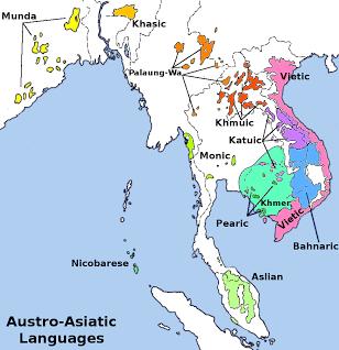 Karte von Südostasien